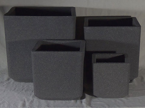 Old Sanstone Cube Planter Set