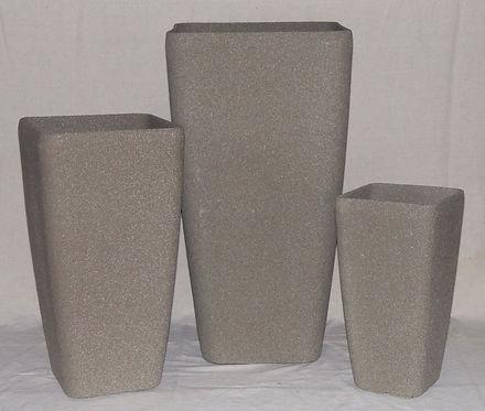 Stone Lite Contemporary Square Planter