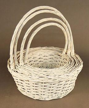 Split Wood Willow Baskets