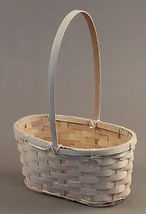 Oval Floral Basket