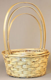 Split Rattan Wicker Baskets