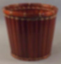"Bamboo Slat 10"" Plant Pot Cover"