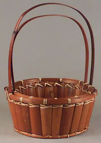 Bamboo Slat Baskets
