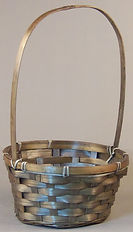 Bamboo 8 Inch Round Basket