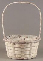 "9"" Rattan Basket"