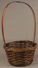 "7"" Bamboo Basket Floral"
