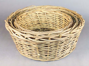 Native Willow Basket Trays