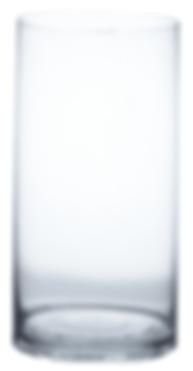 8x16 Glass Cylinder Vase