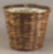 "Split Rattan 8"" Plant Pot Cover"