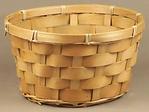 "Wood 8"" Basket"