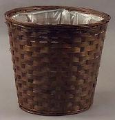 "Split Bamboo 8"" Plant Pot Cover"