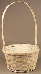 """7"""" Round Bamboo Basket"""