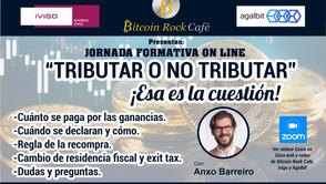 JORNADA DE CHARLAS FORMATIVAS: TRIBUTAR O NO TRIBUTAR, ESA ES LA CUESTIÓN