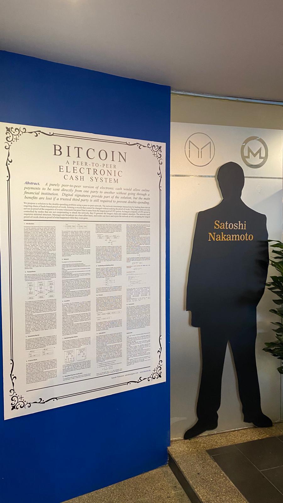 Ven a Bitcoin Rock Café y conoce de cerca el Whitepaper de Satoshi Nakamoto