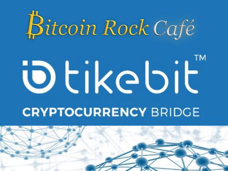Alianza comercial entre Bitcoin Rock Cafe y Tikebit