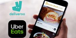 Ahora ya puedes hacer tus pedidos a domicilio en dos nuevas apps, Uber Eats y Deliveroo.