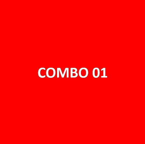 Combo 1 - MÓDULOS 01,02,03 e 04