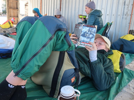 Claire Can Read: Books I read on my NOLS course and how I felt about them!