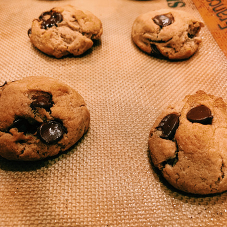 The Best Chocolate Chip Cookies Ever (that just happen to be gluten-free and vegan)