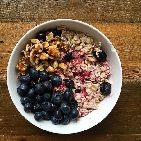 Over Night Oats: The easiest back to school breakfast