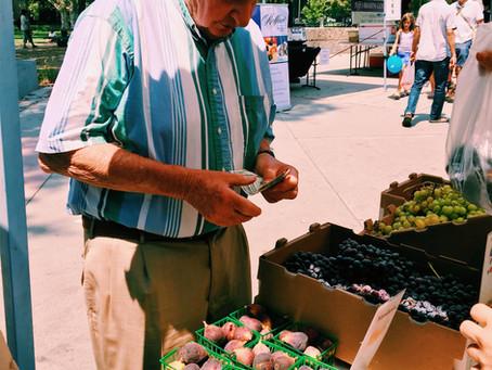 Davis Farmer's Market Adventures! (photo diary)