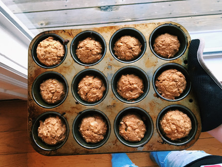 Vegan Carrot Breakfast Muffins!
