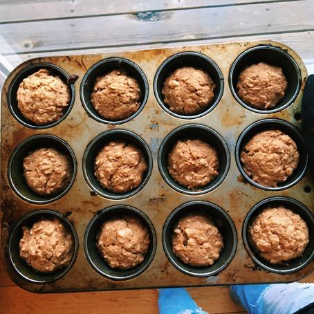 Vegan Carrot Breakfast Muffins!