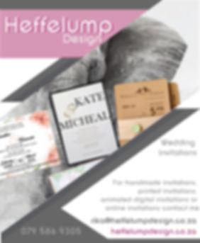 Wedding Invitations, Heffelump Design, Wedding Video, Wedding Photographer, Jako Tomlinson, Langeberg Weddings