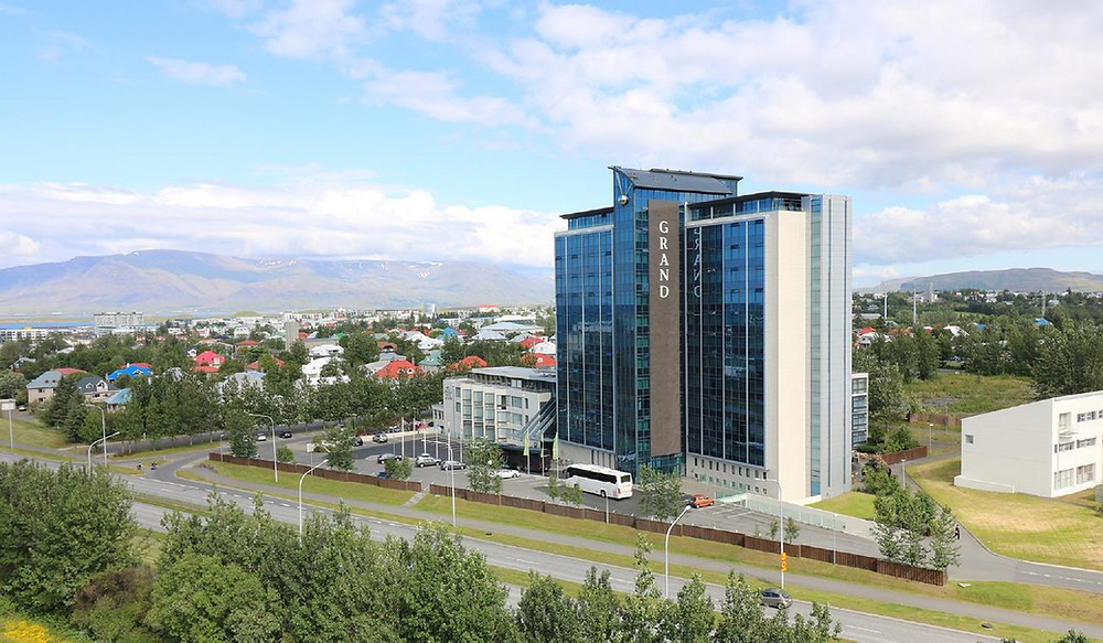 The Grand Hotel Reykjavik, one of the best environmentally friendly hotels in Iceland