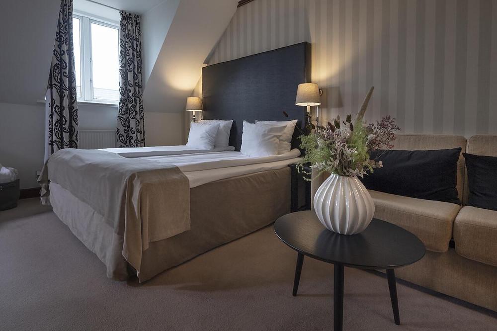 A hotel room in Hotel Mayfair, an eco-friendly hotel in Copenhagen