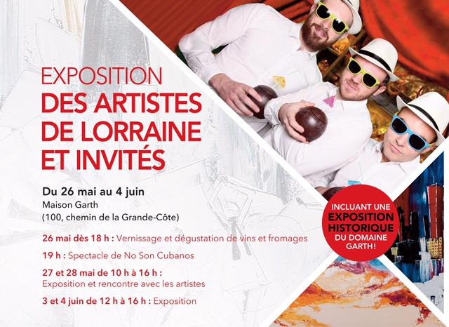 Des artistes de Lorraine et Invités/ Galerie de la Maison Garth