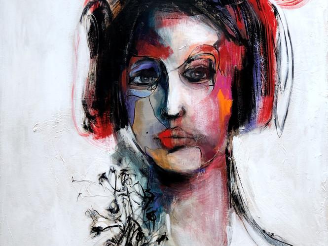 LA DAME D'HONNEUR -VENDU / SOLD-