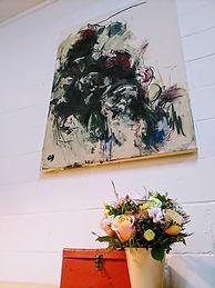 tableau fleurs solitaire.JPG