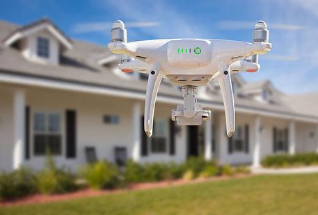 Luftbild Drohne Immobilien Haus Wohnung Grundstück Gewerbe Immobilie Real Estate Bauträger Projektentwickler