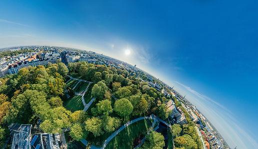 Luftbild Drohne 360°-Panorama Berlin Rheinlad-Pfalz