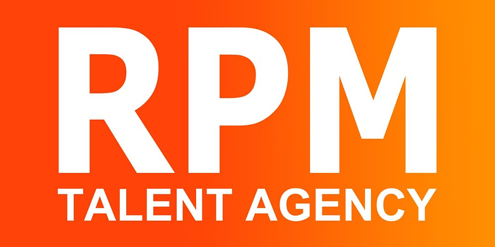 RPM Talent Agency 1-2-1 (SOLD OUT)