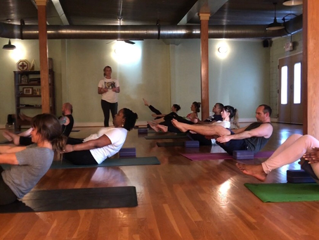 The Beginner Class Learned about the 5th Navasana