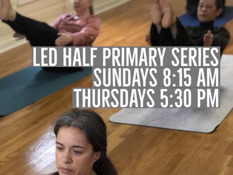 Schedule at Ashtanga Yoga Marietta