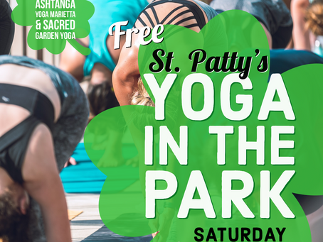 Free St. Patty's Yoga in the Park
