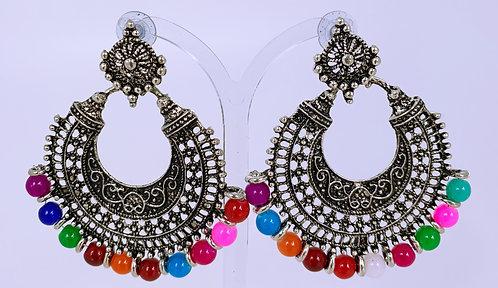 Multicolor Metallic Ohrringe