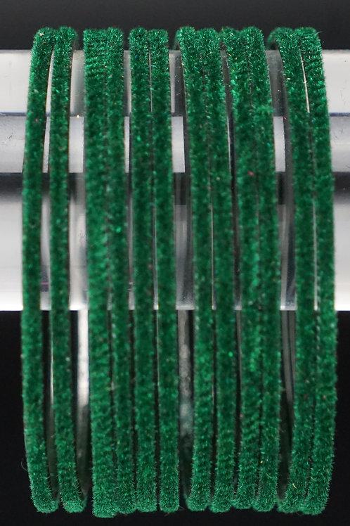 Velvet Grün Metall Armreifen