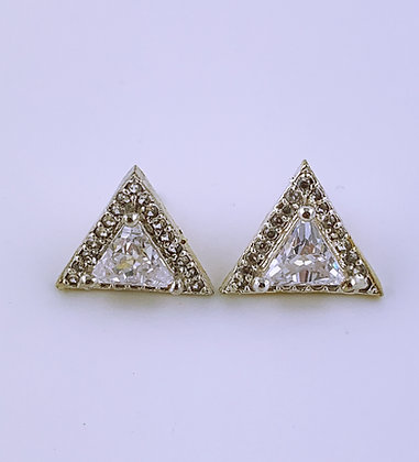 Ohrstecker Triangle