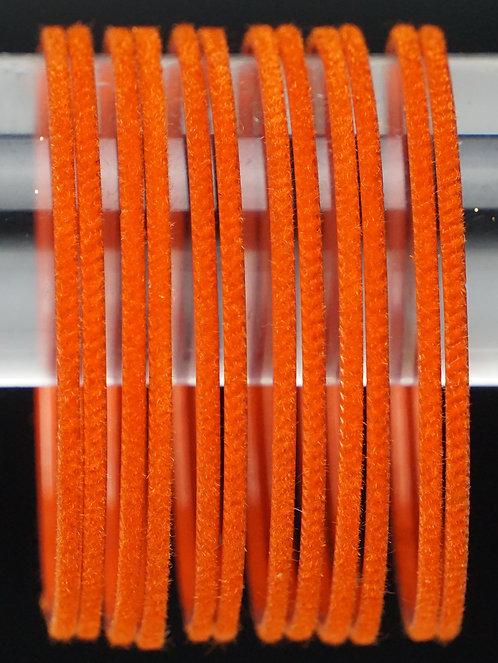 Velvet Orange Metall Armreifen