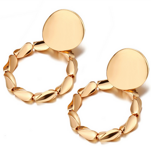 Golden Vintage Ohrringe