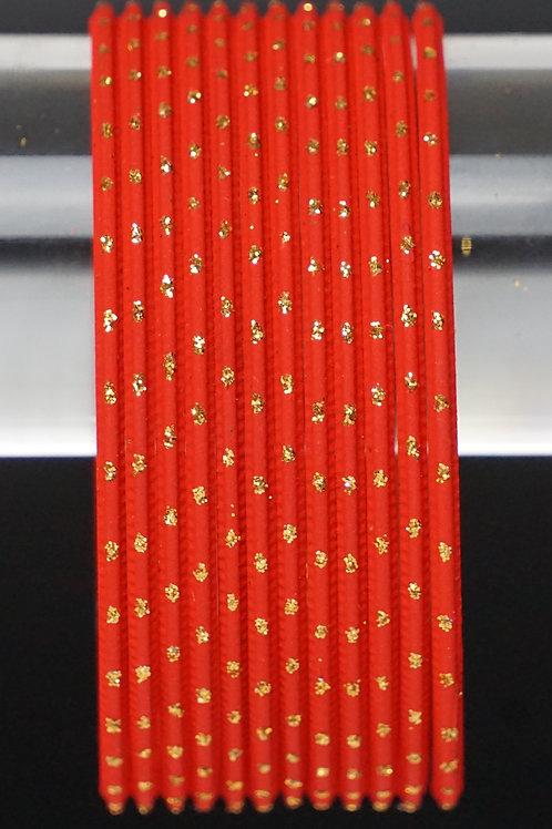 Rot Metall Armreifen