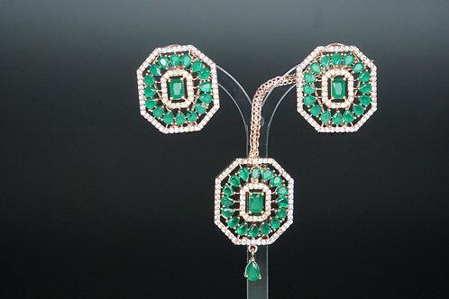 Topas Tikka Set Emerald