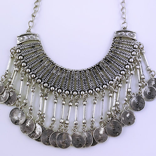 Metallic Statement Kette