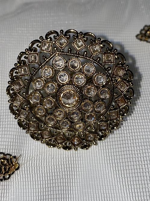 Kundan Ring XL