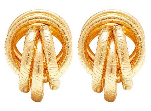 Vintage Knot Ohrstecker
