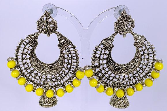 Yellow Metallic Ohrringe